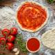 massa mini pizza low carb