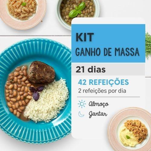 Ganho de Massa | 21 Dias | Almoço e Jantar | Da Mamãe Fitness