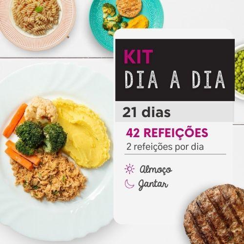 Kit dia a dia | 21 Dias | Almoço e Jantar | Da Mamãe Fitness