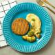 Hambúrguer de Quinoa com Purê de Mandioca e Brócolis Salteados Da Mamãe Fitness