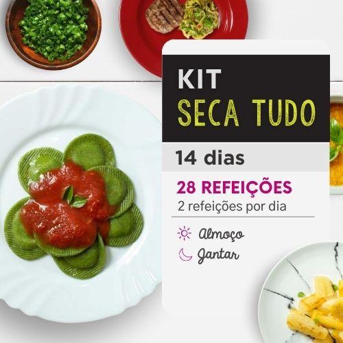 Kit Emagrecimento 14 dias Almoço e Jantar -  Da Mamãe Fitness