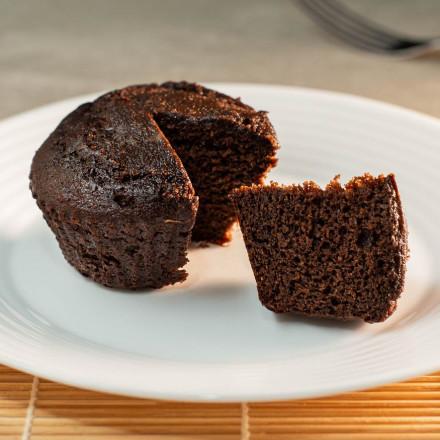Muffin de cacau Da Mamãe Fitness