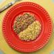 Patinho moído com arroz integral com brócolis Da Mamãe Fitness