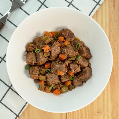 Marmita Fit Picadinho de carne com vegetais