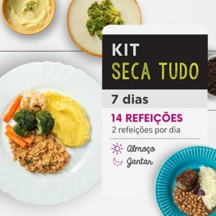 Kit Emagrecimento 7 dias Almoço e Jantar - Da Mamãe Fitness