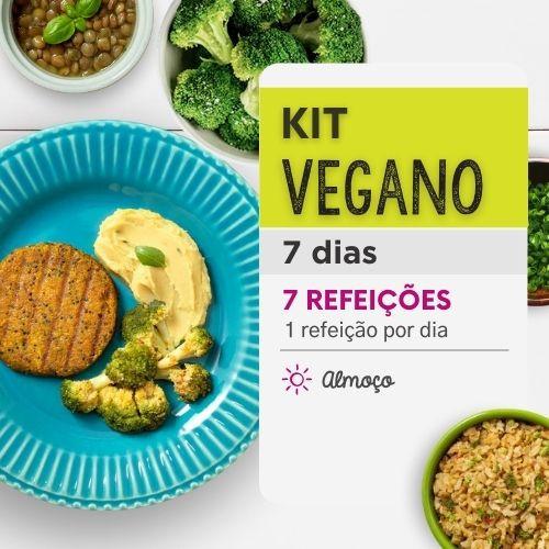 Kit Marmitas Veganas 7 dias - Da Mamãe Fitness