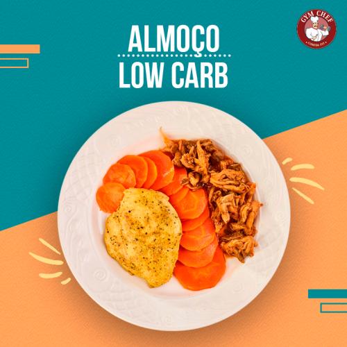 Almoço Low Carb