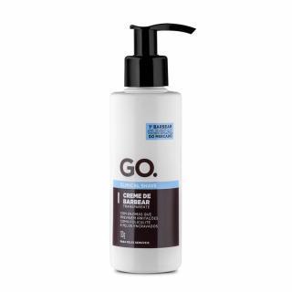 GO. Creme de Barbear Transparente Clinical Shave