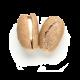 mini pão francês integral com requeijão light