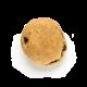 pão de uva passa com cream cheese