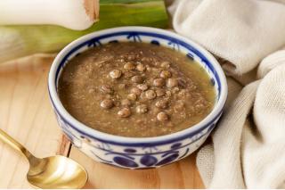 Sopa Letilha Quinoa e Alho poro