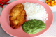 Kit filé de frango com arroz e espinafre da Maddas