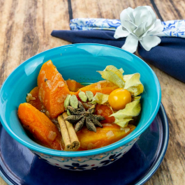 cenoura gengibre especiarias
