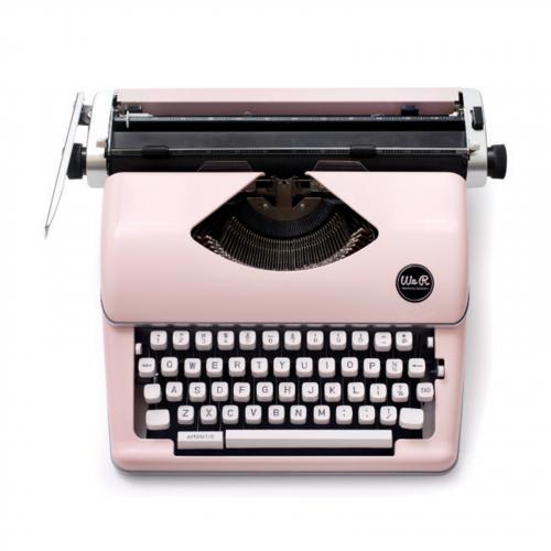 We R - MAQUINA DE ESCREVER - TYPEWRITE - PINK - (310297)